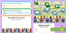 ROI Student Council Display Pack