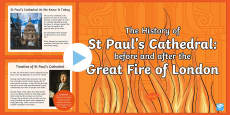 KS2 The History of St Paul's Cathedral Project PowerPoint