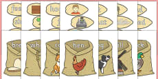 Little Red Hen's Rhyming Strings EYFS Resource Pack