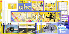 PlanIt - Science Year 6 - Light Unit Additional Resources