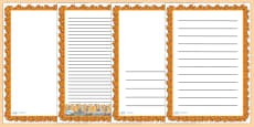 Fire Page Borders