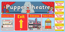 Puppet Theatre Role Play Pack