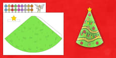 Cone Christmas Tree Decoration Resource Pack