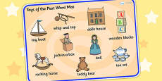 Toys from the Past Word Mat
