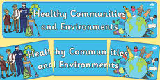 Healthy Communities and Environments Display Banner NZ