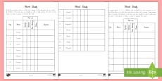 * NEW * Word Study to Support Teaching of Matilda Chapters 1 to 3 Differentiated Activity Sheets