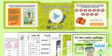 PlanIt Y4 Term 1B W6: Statutory Spelling Challenge Words Spelling Pack