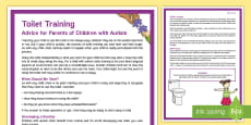 Toilet Training Autism Parent and Carer Information Sheet