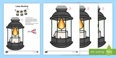 Lamp Display Bunting