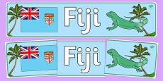 Fiji Display Banner
