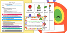 Food Posting Activity EYFS Busy Bag Plan and Resource Pack to Support Teaching on The Very Hungry Caterpillar