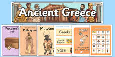 Ready Made Ancient Greece Display Pack
