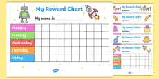 My Reward Chart Pack