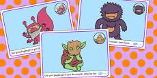 Monster Playdough Mats