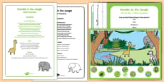 * NEW * Quiet Time Box to Support Teaching on Rumble in the Jungle