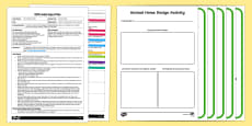 EYFS Animal Homes Adult Input Plan and Resource Pack to Support Teaching on The Gruffalo's Child