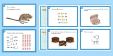 Y3 Multiplication and Division Challenge Cards