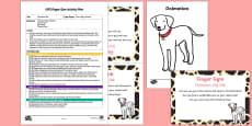EYFS Dalmatian Dab Finger Gym Plan and Resource Pack
