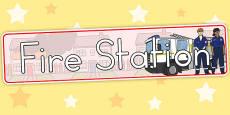 Australia - Fire Station Banner