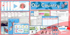 PlanIt - Geography Year 1 - Our Country Unit Pack