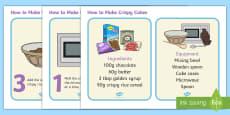 How to Make Crispy Cakes