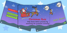 Christmas Quiz PowerPoint Editable