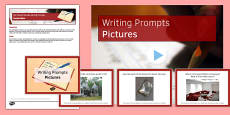 Ten Picture Stimulus Writing Prompts Resource Pack