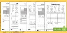 Fall Count and Graph Activity Sheet