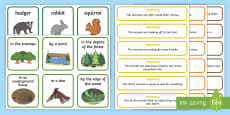 * NEW * Woodland Adventure Story Writing Prompt Cards