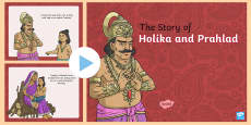 Hinduism Story of Holika and Prahlad PowerPoint
