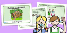 Hansel and Gretel Story Sequencing (A4) Polish Translation