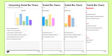 Interpreting Bar Charts Activity Sheet Pack