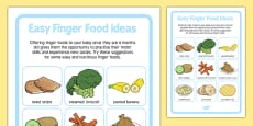 Easy Finger Food Ideas for Babies