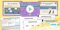 * NEW * PlanIt - Year 5 French - Family and Friends Lesson 6: What Can I Say? Lesson Pack