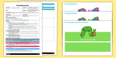 Listening Game EYFS Adult Input Plan and Resource Pack to Support Teaching on The Very Hungry Caterpillar