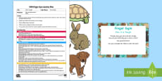 * NEW * EYFS Pets in a Tangle Finger Gym Plan and Resource Pack