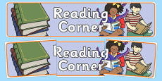 Reading Corner Display Banner