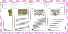 Hansel and Gretel Story Writing Frames