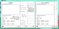 Leopards Differentiated Activity Sheets