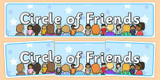 Circle of Friends Display Banner