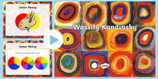 * NEW * All About Kandinsky PowerPoint