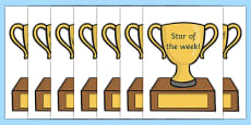Classroom Award Trophies