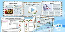 PlanIt - D&T KS1 - Dips and Dippers Lesson 4: Modelling Dips and Dippers Lesson Pack