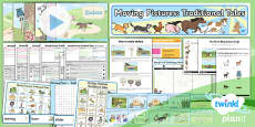 PlanIt - D&T KS1 - Moving Pictures Traditional Tales Unit Pack