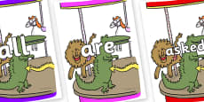 Tricky Words on Trick 3 to Support Teaching on The Enormous Crocodile