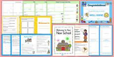 New Child In Year Starter IYS Resource Pack