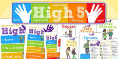 High Five How To Deal with Bullying Pack
