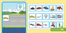 Transport Sorting Activity