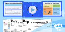 PlanIt - Science Year 6 - Electricity Lesson 6: Electricity Investigation Part 3 Lesson Pack