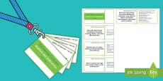 Lanyard Sized Year 1 Addition and Subtraction Objectives Cards
